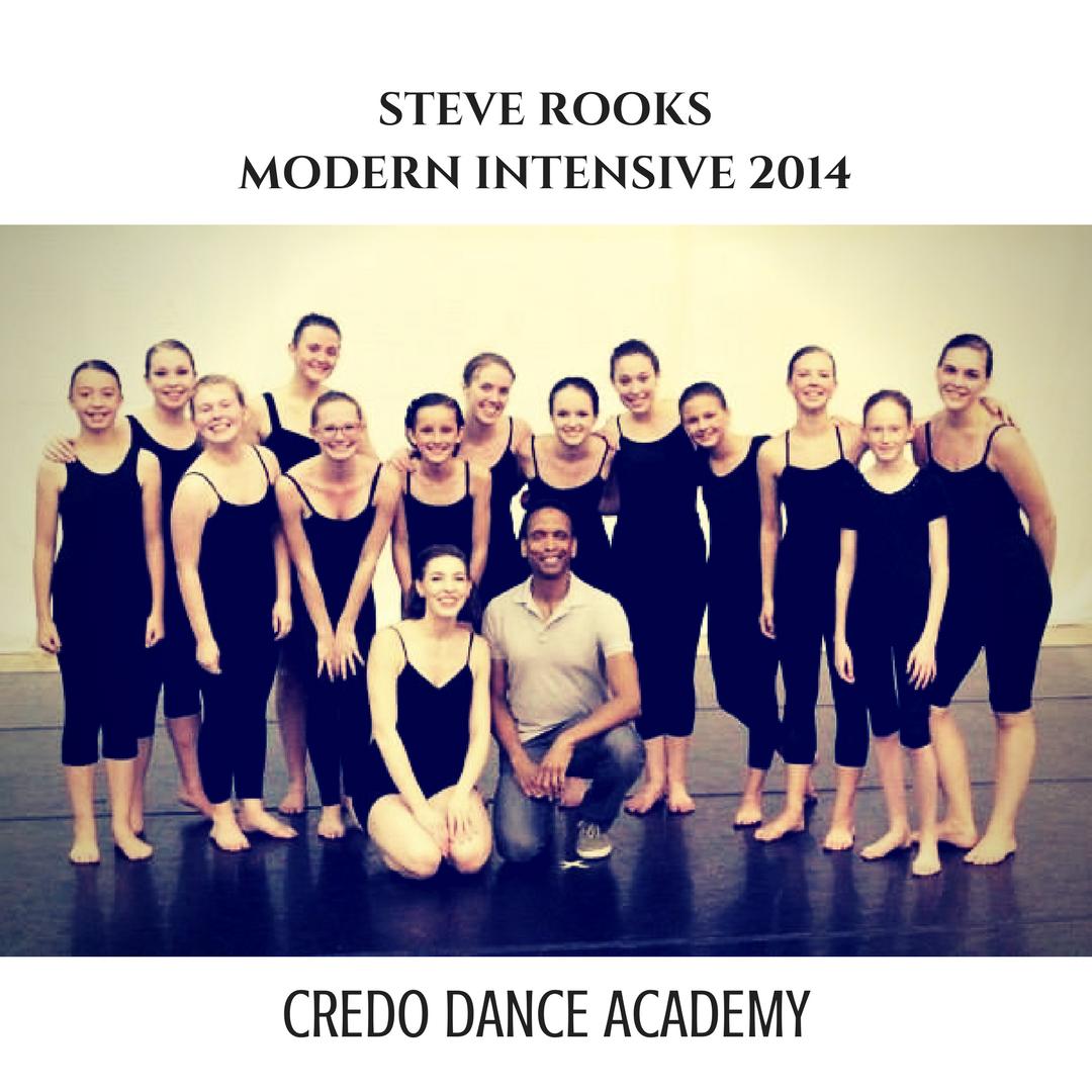 Steve Rooks Modern Intensive 2014 Photo Credit Karen Rielger Dance Instruction Dance Academy Dance