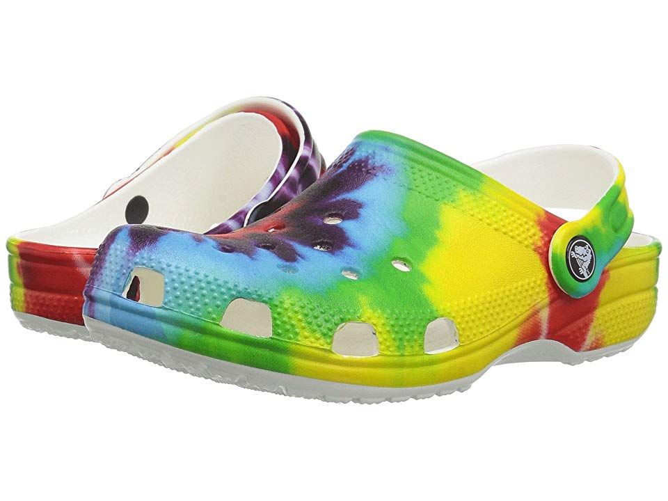 95a6a4319 Crocs Kids Classic Tie-Dye Graphic Clog (Toddler Little Kid) Kids Shoes  Multi