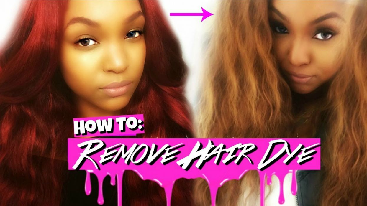 How To Strip Red Hair Color Best Hair Color For Dark Skin Women