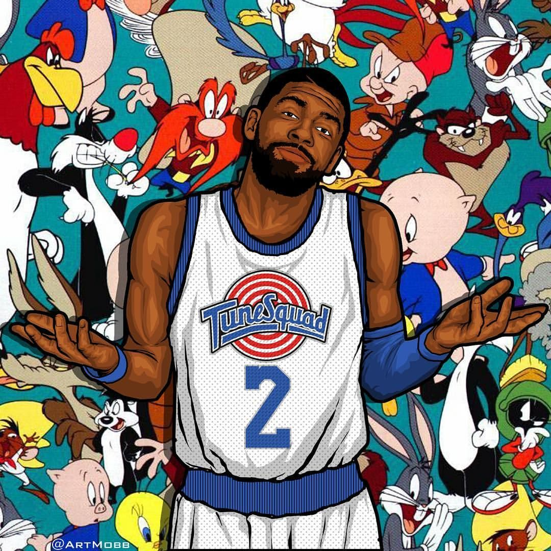 3 002 Likes 41 Comments Michael Farhat Artmobb On Instagram Man Where Is Kyrieirving Going Uncledrew Basketball Wallpaper Nba Pictures Nba Art