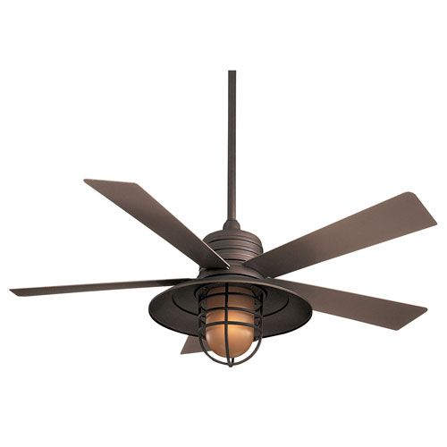 Minka aire rainman oil rubbed bronze 54 inch blade indooroutdoor bellacor rainman oil rubbed bronze 54 inch blade indooroutdoor ceiling fan for wet aloadofball Image collections