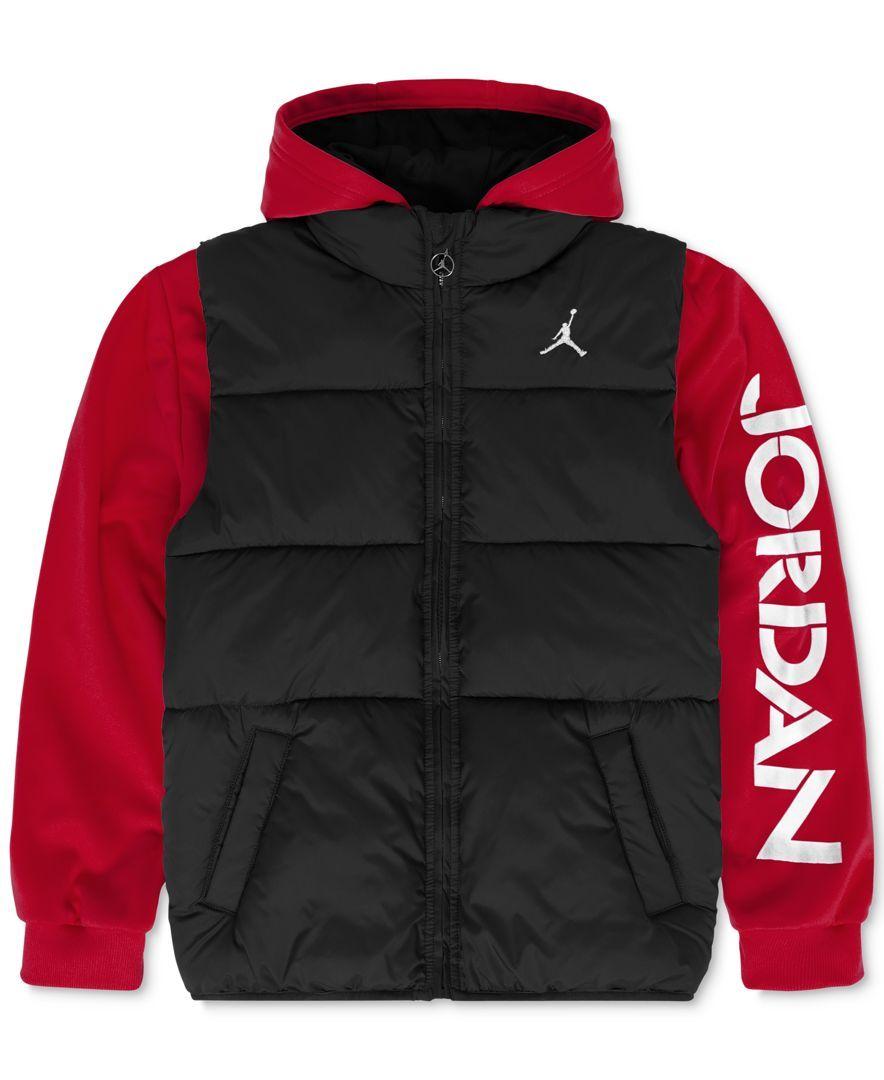 b9bc97b395c0ec Jordan Boys  Classic 2-Fer Jacket Jordans Outfit For Men