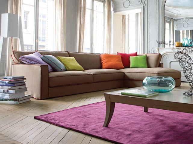 Coussin colore roche bobois salon pinterest for Salon marocain roche bobois