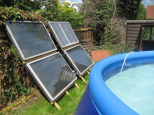 Use Solar Energy To Heat A Pool Solar Solar Panels Solar Pool