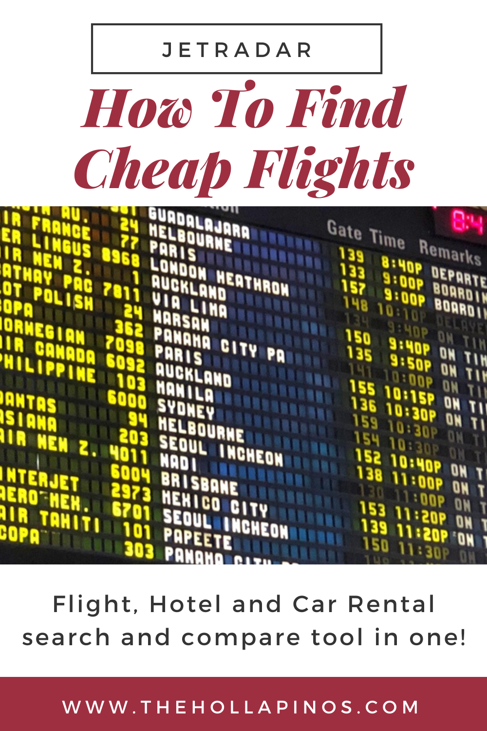 Flights take the most amount from our travel budget. Jetradar will help you on how to find cheap flights using either web or mobile application.  #findcheapflights #cheapflights #jetradar