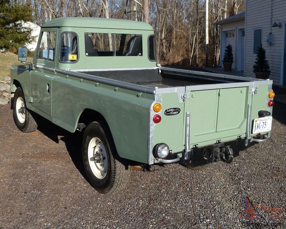 Series 3, 109 pick-up truck, ex-MOD
