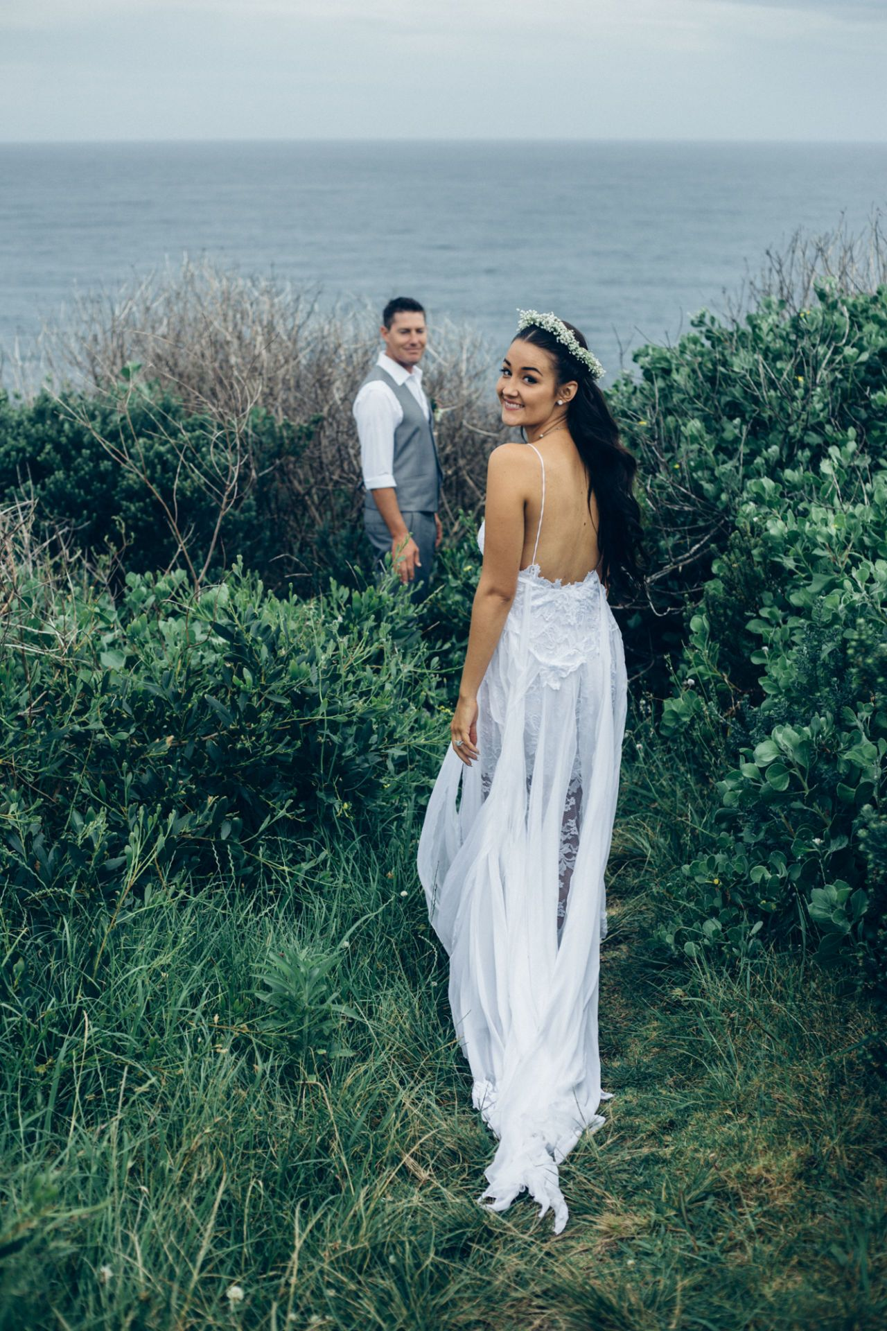 How 14 Different Brides Styled the Most Popular Wedding Dress on Pinterest
