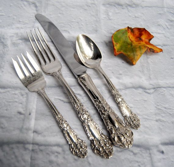 Silverware Wedding Gifts: Sterling Silverware From Reed And Barton By