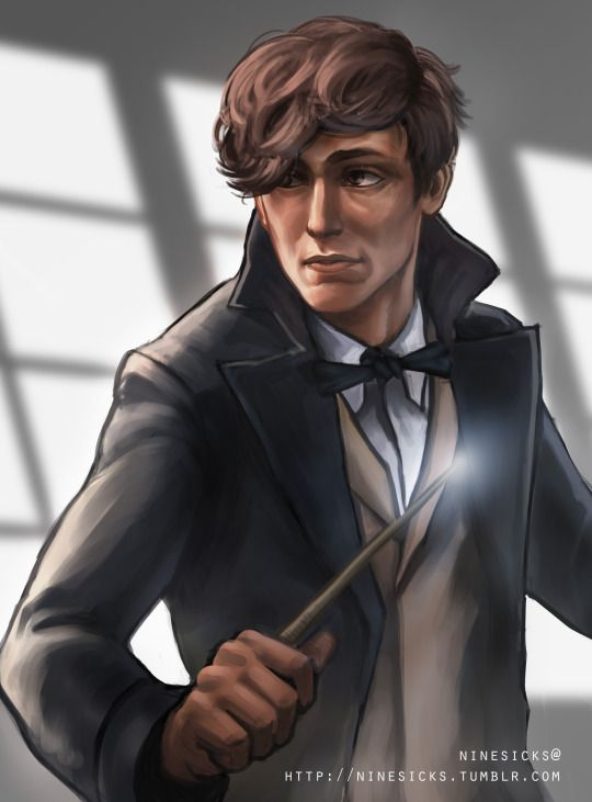 'Why is Albus Dumbledore so fond of you,  Newt Scamander?'