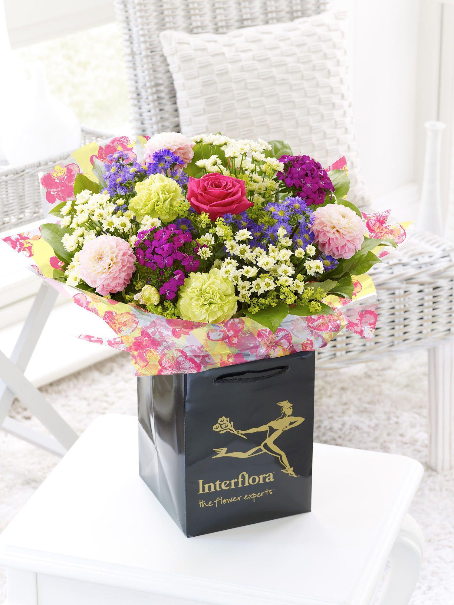 Summer Hand Tied Interflora My Interflora Wedding Pinterest