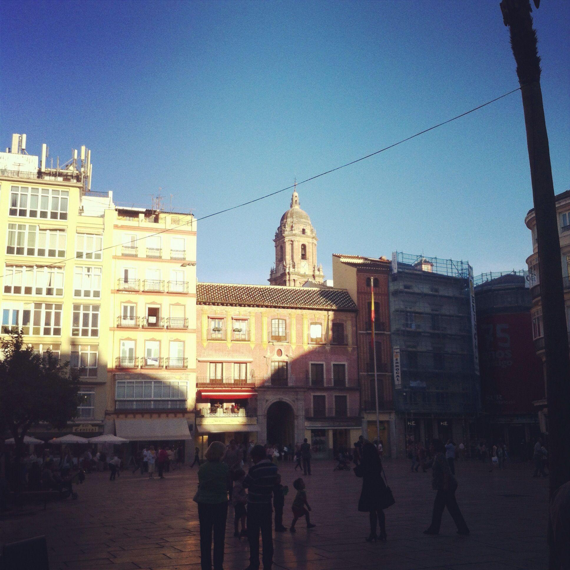 Málaga ~ Plaza Constitución
