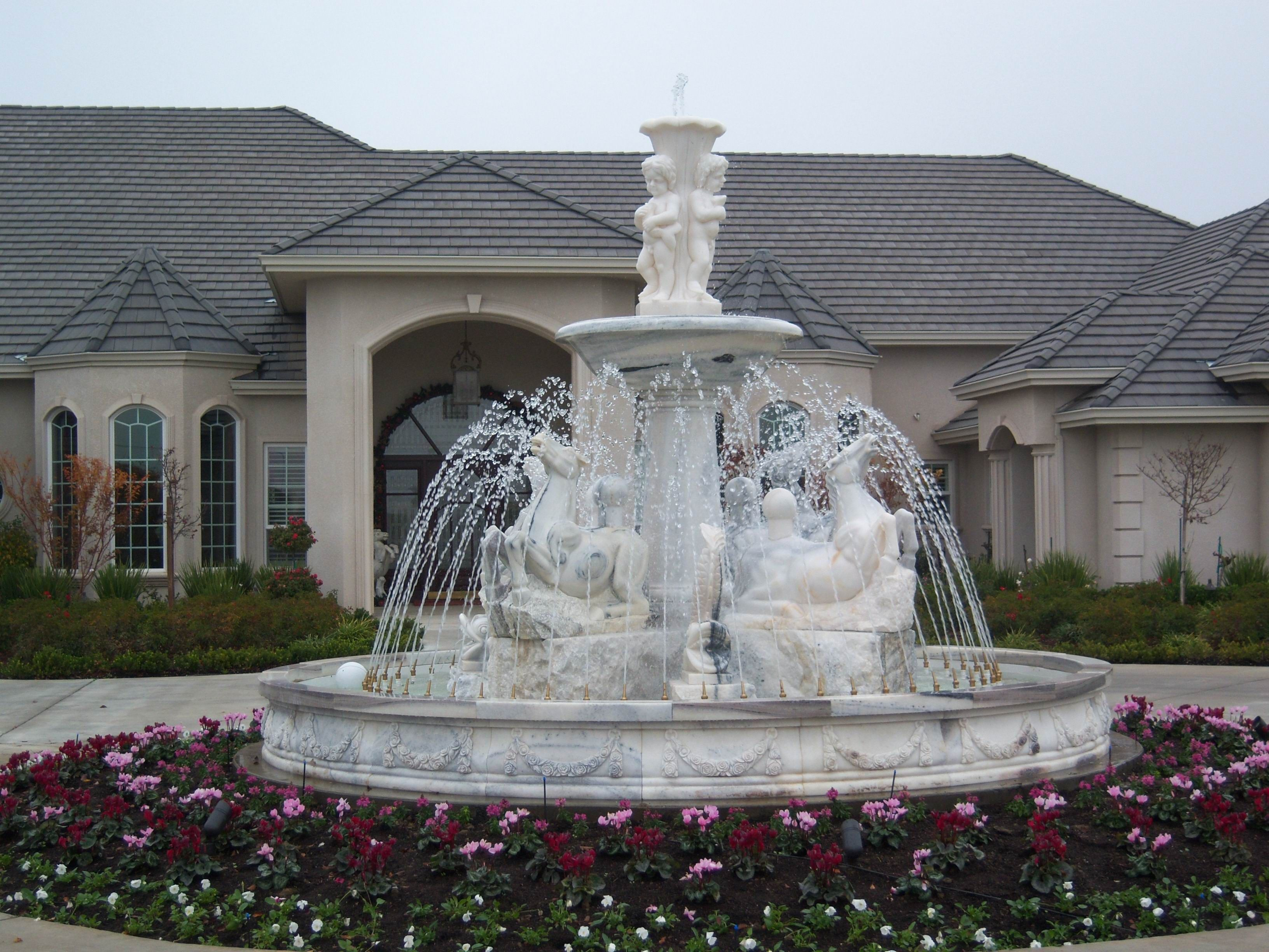 Outdoor Water Fountains | HOME OVER 200 SELECTIONS   24 HOUR ENTERTAINMENT  Click On Images For