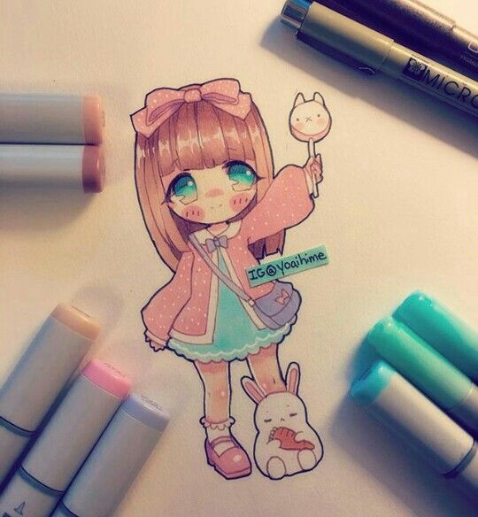 yoaihime (instagram) | Artist: Yoaihime | Pinterest | Chibi ...