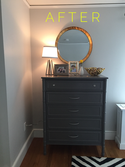 MINI BEDROOM MAKEOVER FOR $150 - http://www.mombubbly.com/style/mini-bedroom-makeover-for-150