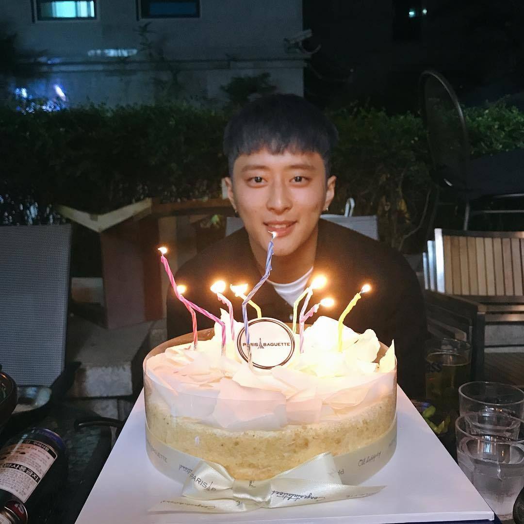 Happy Birthday J Seph Cake Birthday Candles Birthday Cake