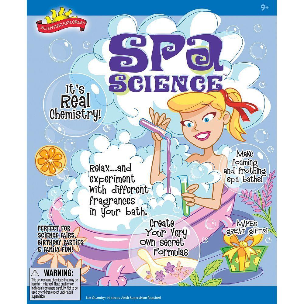 Scientific Explorer Spa Science Kit, Multicolor
