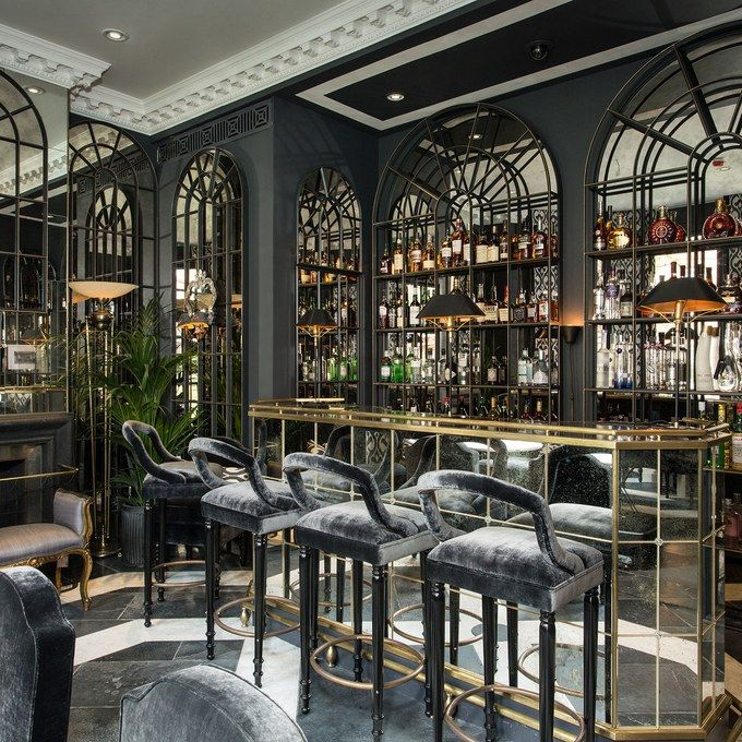 Bar Interior Design: Get A First Look At London's Newest Luxury Hotel: The