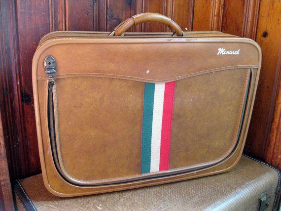 Monarch Suitcase Vintage