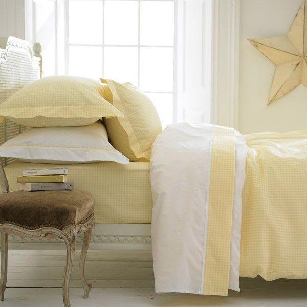 Yellow Gingham Duvet Cover Duvet Covers Yellow Duvet Covers Yellow Bedding