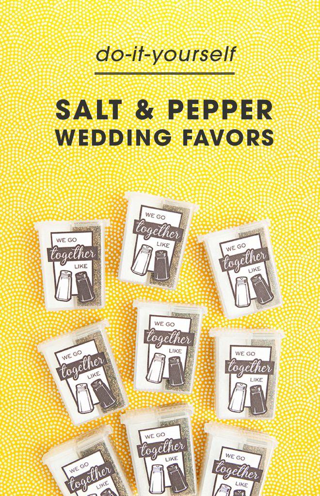 The Cutest Salt Pepper Wedding Favors You Ve Ever Seen