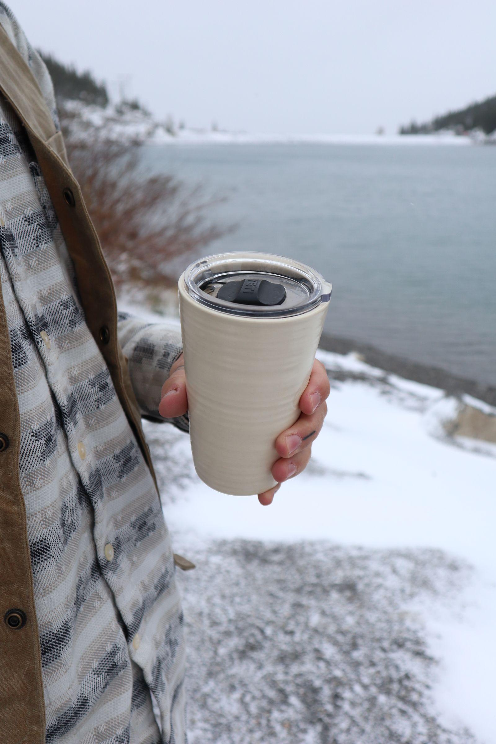 Yeti Lid Ceramic Travel Mug Ceramics, Teal mugs, Mugs