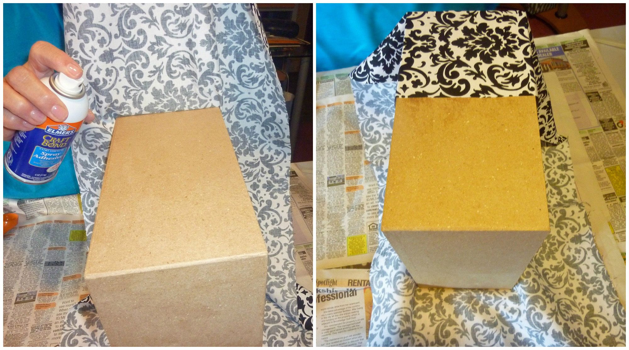How To Decorate A Card Box For A Wedding Wedding Card Box 4 Tier Fabric Covered  Crafts Unleashed