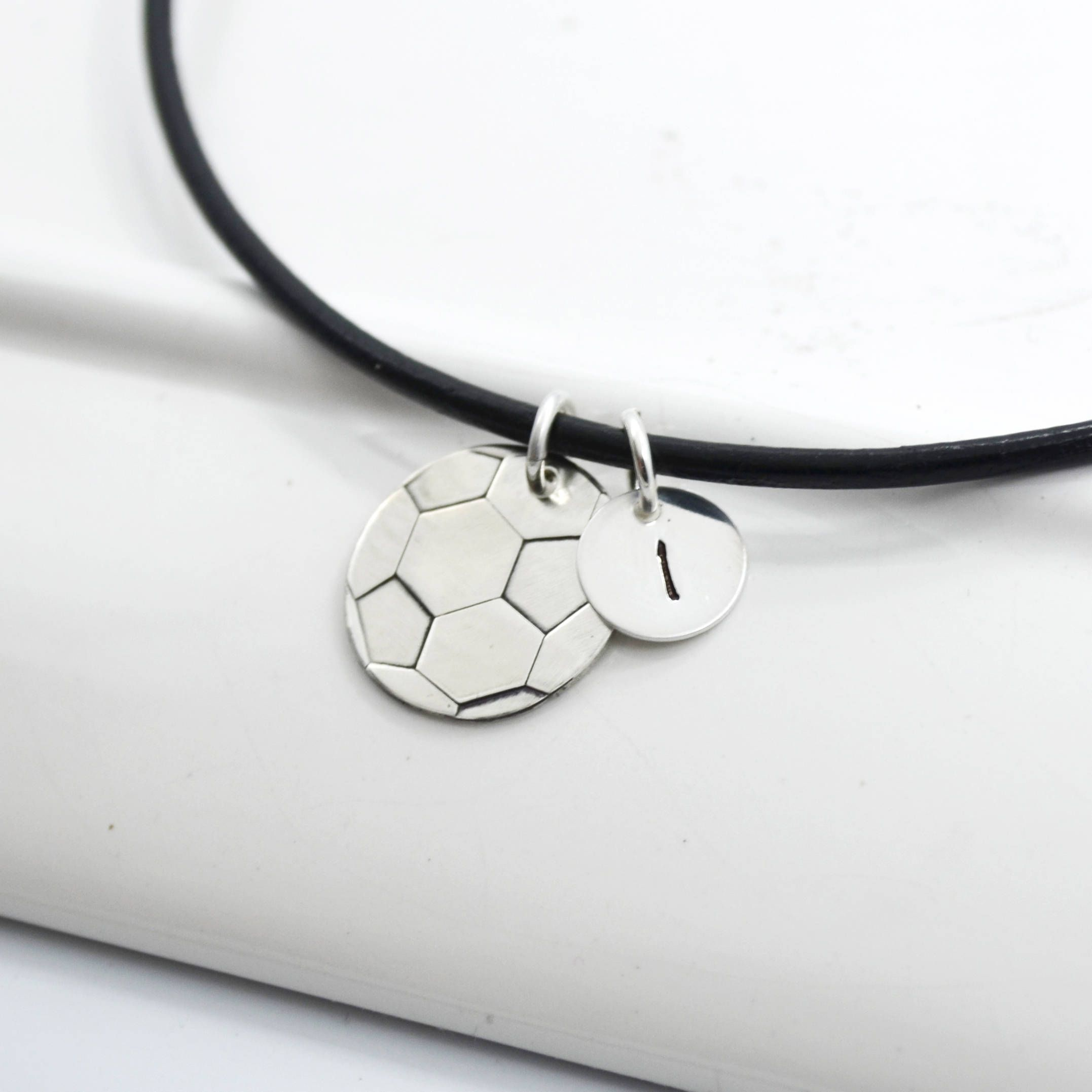 cz and lg soccerball gold pendant silver necklace soccer store