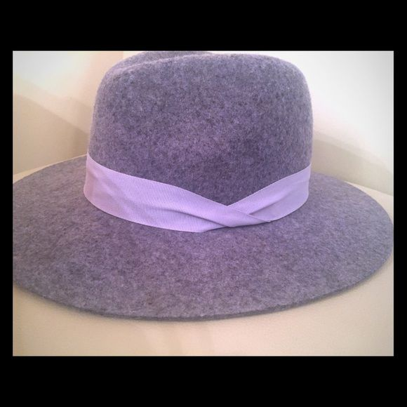 7c955e5cffc Wool Floppy Hat New without tags. Made of 100% wool. Grosgrain ...