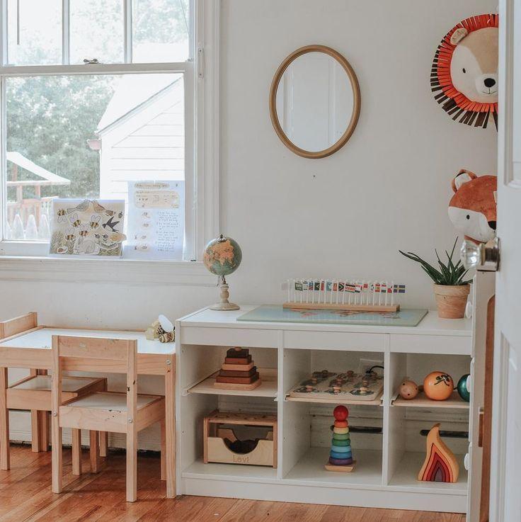 Minimalist Homeschool Room: Montessori Homeschooling - Bruna Masalin In 2019