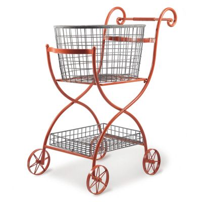 Toulouse Shopping Cart, persimmon