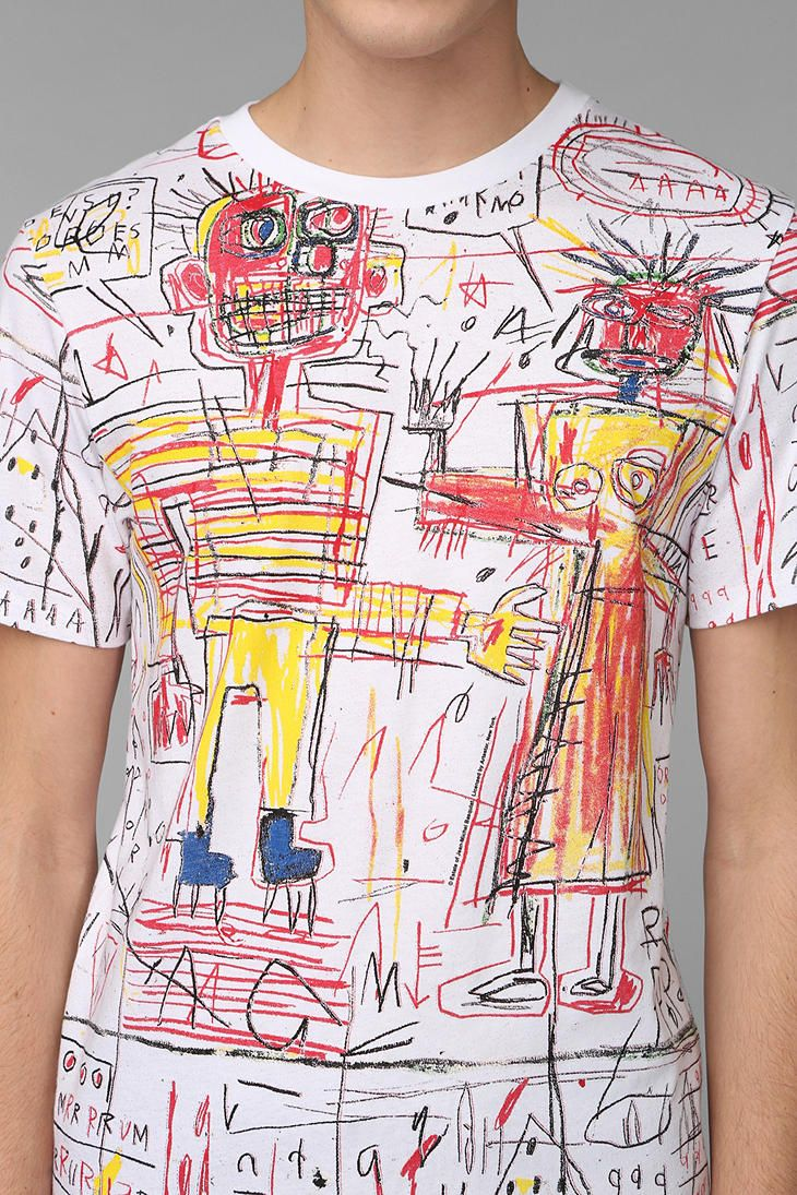 Junk Food Basquiat & SuzanneTee