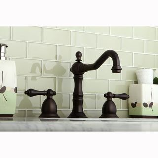 Victorian Bronze Roman Tub Filler Faucet Deck Set