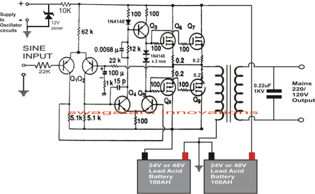 2N3055 Inverter Circuit Diagram | Inverter Circuit Diagram 2000w 20 11 Asyaunited De