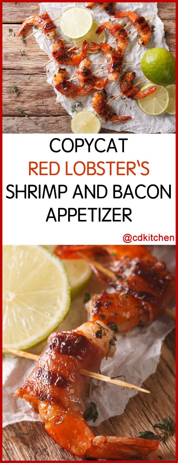 Copycat Red Lobster's Shrimp and Bacon Appetizer Made