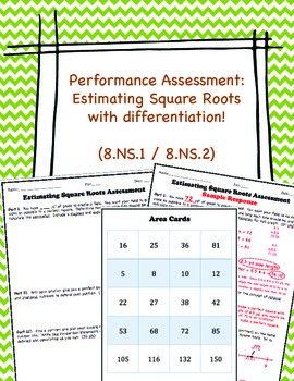 Estimating Square Roots Performance Assessment Ns  Ns