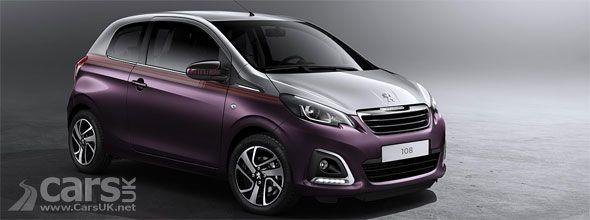 New Peugeot 108 Revealed Ahead Of Geneva Debut City Car Cars Uk
