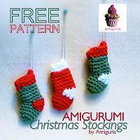 amiguria amigurumi: Free Pattern Christmas Stocking