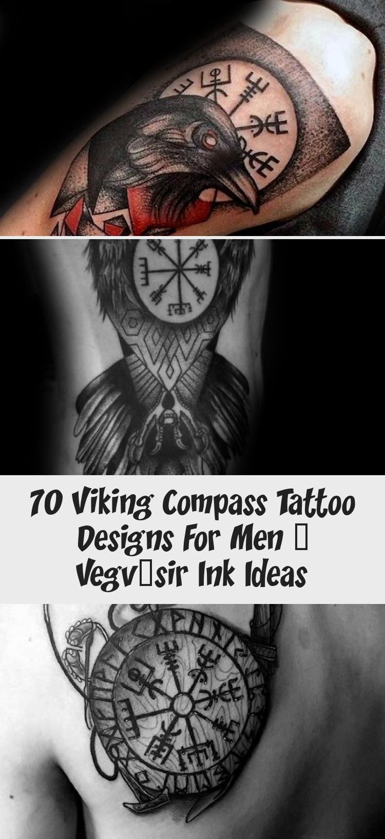 70 Viking Compass Tattoo Designs For Men – Vegvísir Ink ...