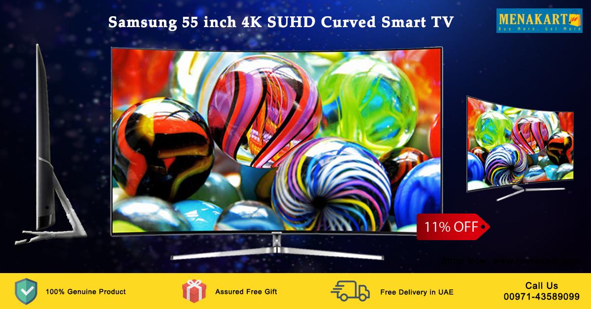 Samsung 55 inch 4K SUHD Curved Smart TV (UA55KS9500