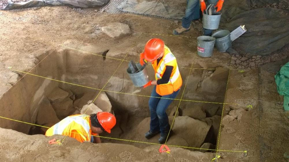 Un campement de 12 000 ans mis au jour au Nouveau