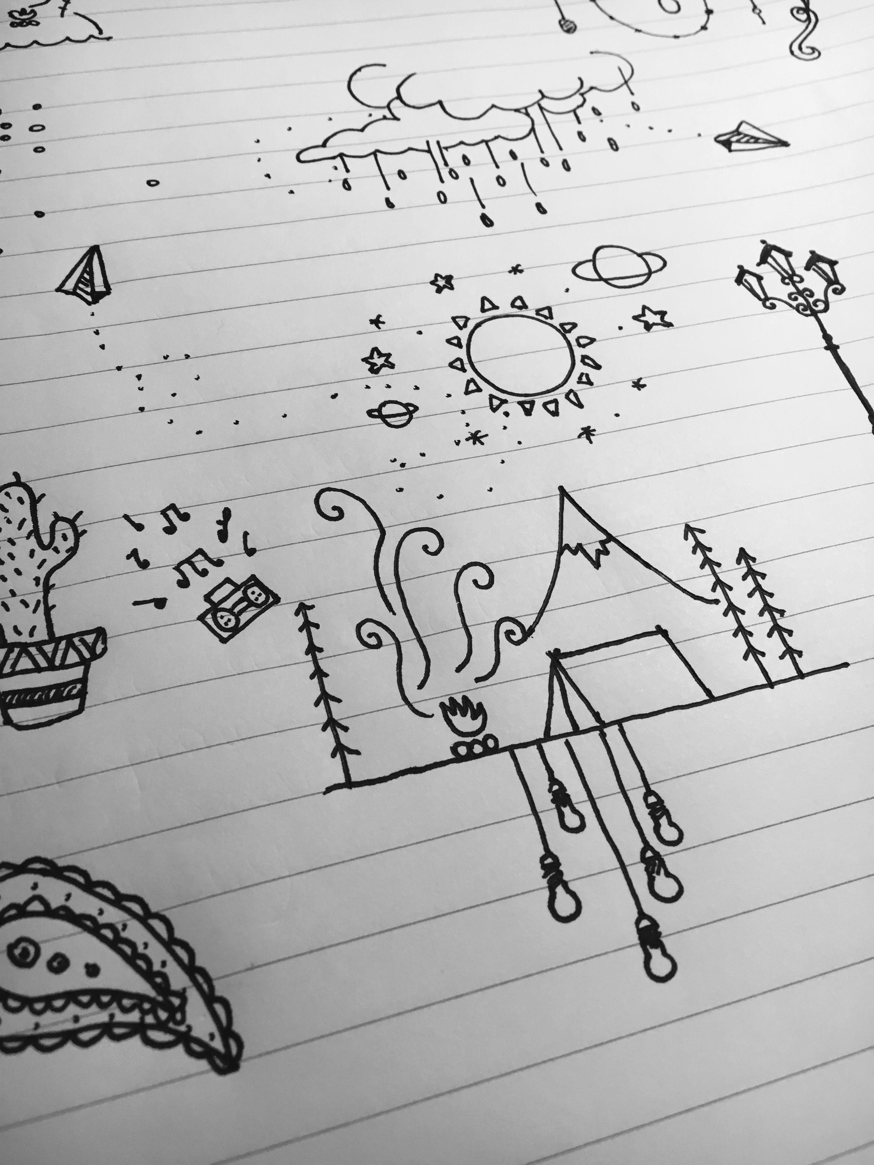 Doodle drawing art boredom tattoo ideas pinterest doodles