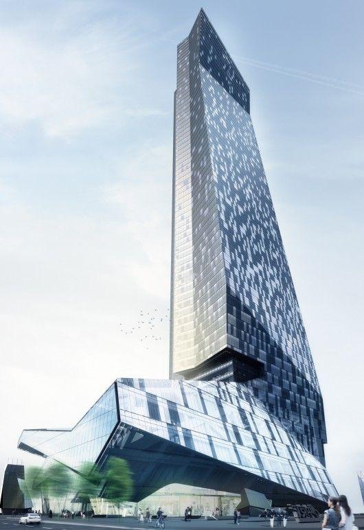 Morphosis Breaks Ground On Shenzhen Office Tower Type
