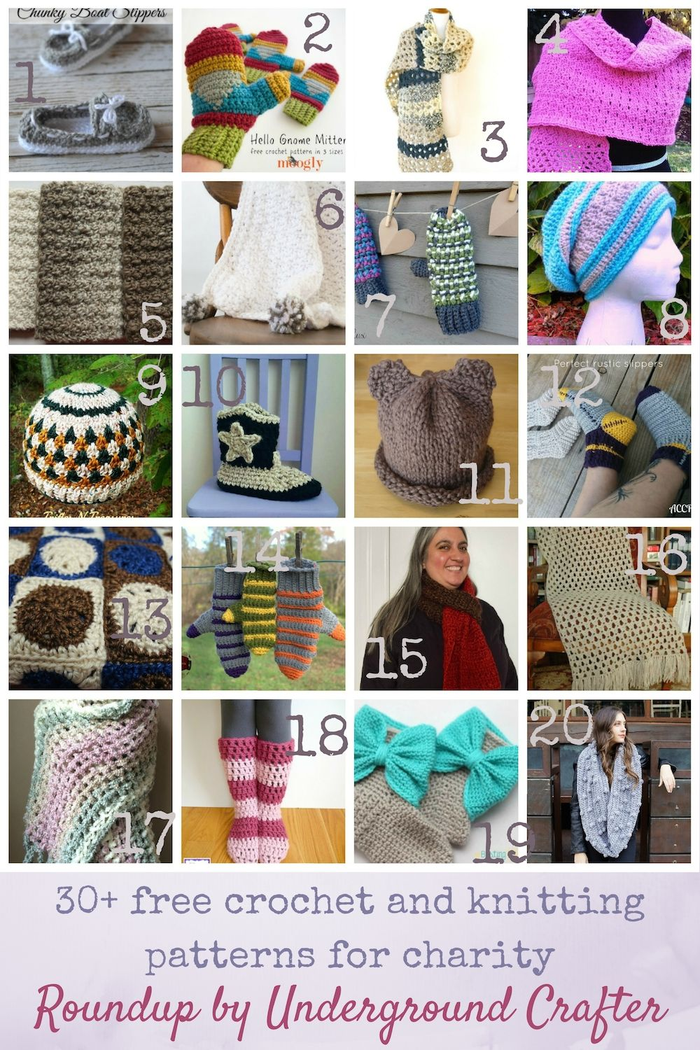 Giving Tuesday Roundup: 30+ free crochet and knitting ...