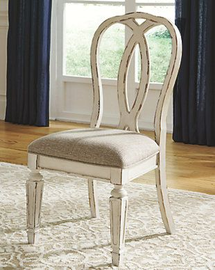 Realyn Dining Room Chair Ashley Furniture Home