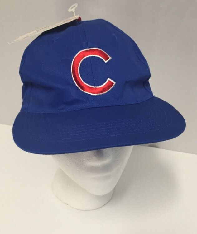 4b88a1752d0 Chicago Cubs Vintage Snapback Baseball  97 Cap Hat NWT Giveaway New Brewers   Unbranded  BaseballCap