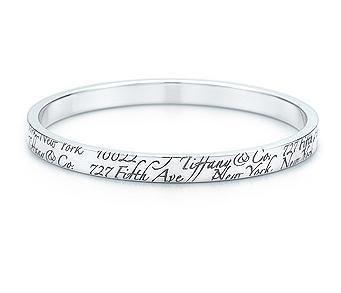 f72aa4499 Tiffany & Co Tiffany Narrow Notes Bangle | Jewelry | Tiffany, co ...