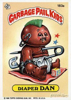 Garbage Pail Kids Original Series 5 Card Collection Garbage Pail Kids Garbage Pail Kids Cards Pail