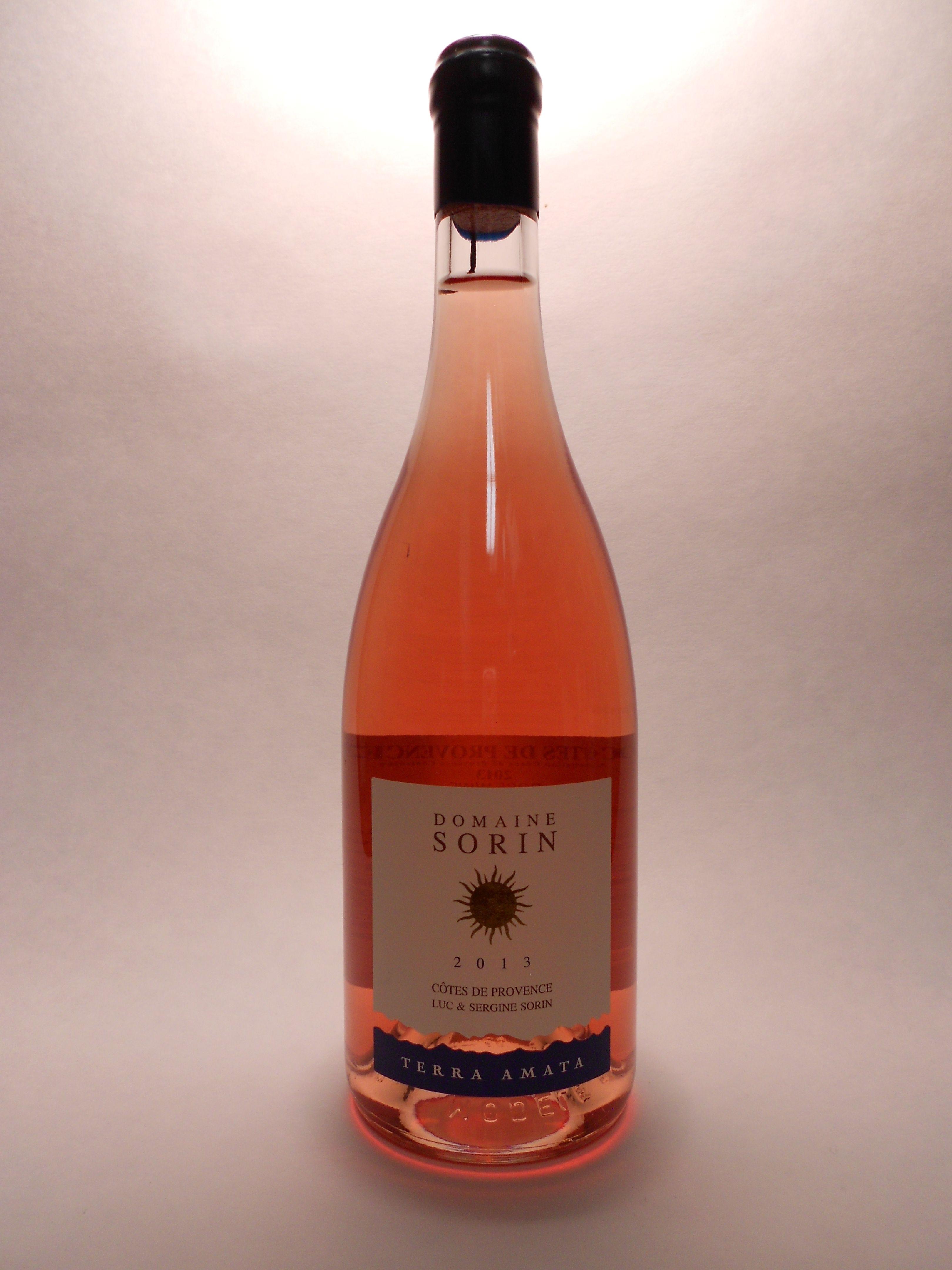 2013 Domaine Sorin Cotes Provence Rose Terra Amata Sku 61351 Www Bassins Com Phone 202 338 1433 Vino Rosado Vinos