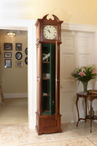 secret gun storage in grandfather clock great if positioned at the rh pinterest com