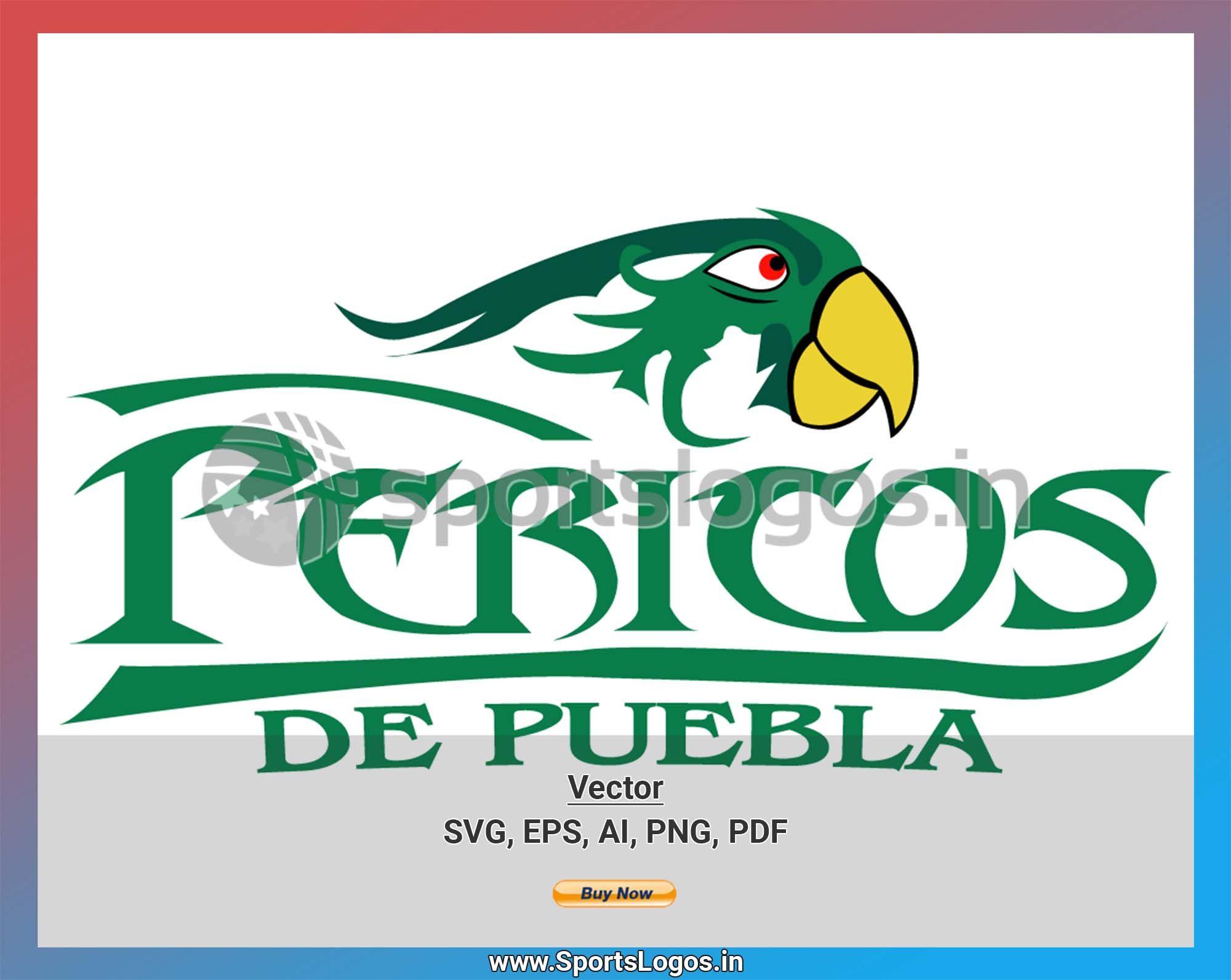 Puebla Pericos 2000 Liga Mexicana De Beisbol Baseball Sports Vector Svg Cricut Logo Spln003539 Sports Logo Sports Baseball Logo Basketball